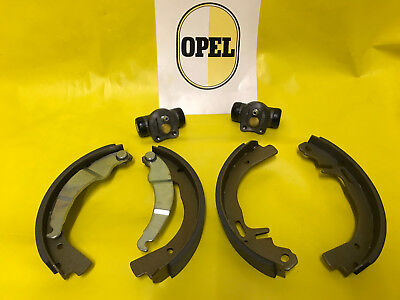 NEU Opel Kadett A B 1,1 1,2 ohv Limousine Coupe Caravan Bremstrommeln Beläge