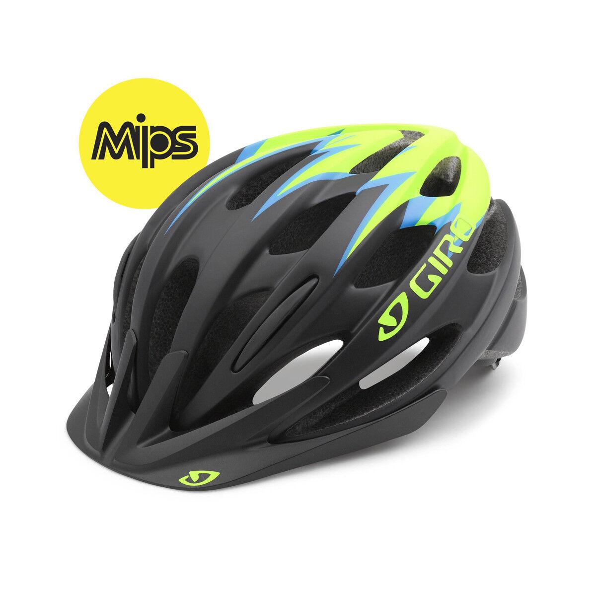 Giro Raze MIPS Jugend Fahrrad Helm Gr. 50-57cm 50-57cm 50-57cm schwarz grün 2016 c3c693