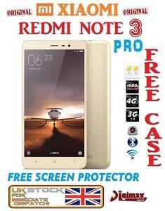 NEU-16GB-Gold-5-5-034-Xiaomi-Redmi-Note-3-Pro-Prime-Snapdragon-650-Dualsim-Unlocked