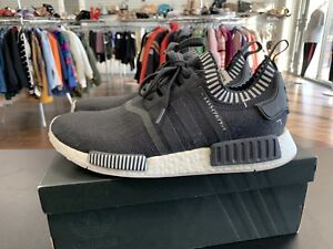 size 40 36397 a3ab3 Details about Adidas Nmd R1 PK Size 11 Mens Japan Grey Primeknit Boost  S81849 Black White