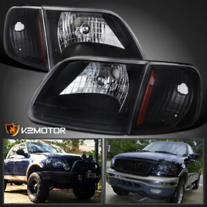 Image Is Loading 97 03 Ford F150 Expedition Headlights Signal Corner