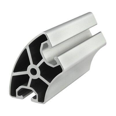 80//20 Inc 40mm x 80mm T-Slot Aluminum 40 Series 40-4080-Lite-Black x 610mm N