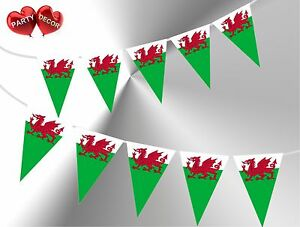 Welsh-Dragon-Flag-Theme-Bunting-Banner-Stylish-party-decoration-by-PARTY-DECOR