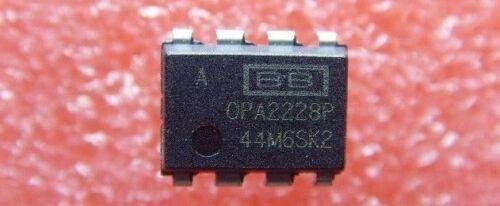 Burr Brown // TI OPA2228 Authentic OPA2228P IC Dual Precision OpAmp 8DIP