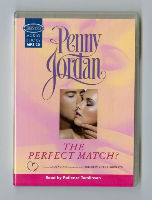 The Perfect Match - by Penny Jordan - MP3CD - Audiobook