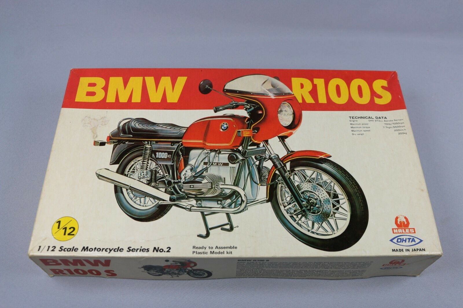 Zf1024 Hales Ohta 1 12 Model 12022-900 BMW R100s Motorcycles Serien No. 2