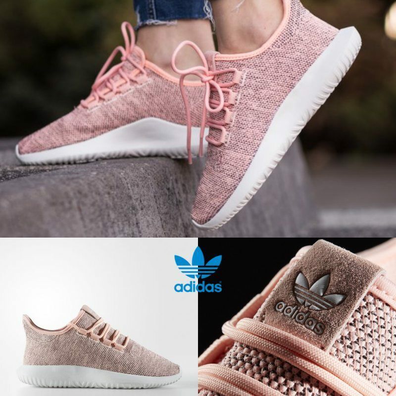 ADIDAS Tubular Shadow Unisex Running Shoes Sneakers Size 4-10 Pink BB8871 Scarpe classiche da uomo