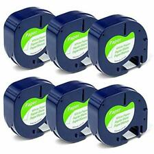 Compatible Label Tape Replacement For Dymo Letratag Labeling Refills 91330 10697