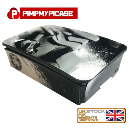 Use Raspberry pi 3 case Storm Trooper Skin only Retropie Raspberry Pi 3