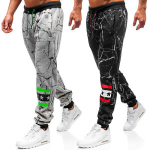 Training running Pantaloni Mens Sports della Camo da Bolf Graphic tuta da Pantaloni 6f6 jogging Bt0tqwrT