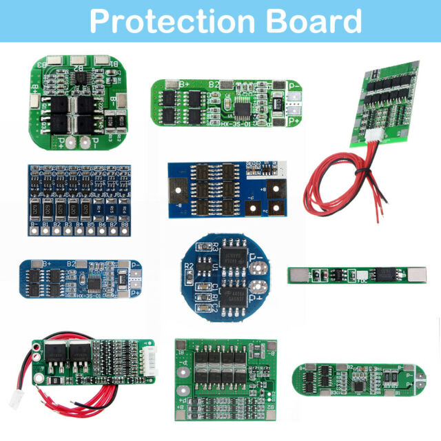 5S/4S/3S/2S/1S Li-ion Lithium Cells Battery Protection BMS PCB Balance Board