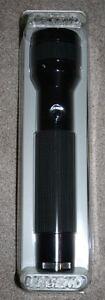 Brinkmann-Keller-Legend-Two-D-Cell-size-flashlight-aluminum-new-black-on-black