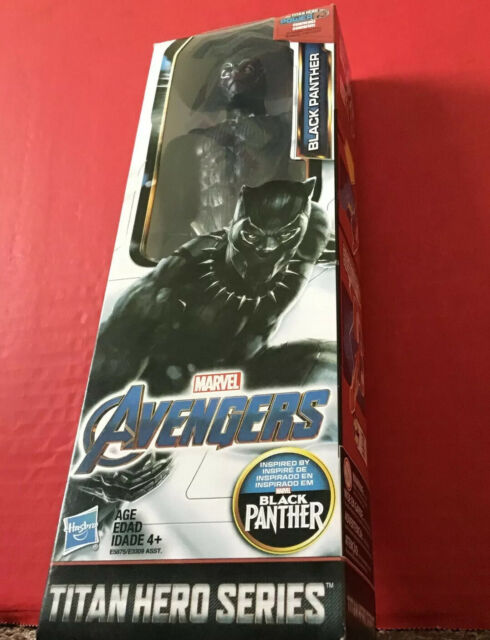 "Black Panther Action Figure  12"" Titan  Hero Series Marvel Legends Avengers FX"