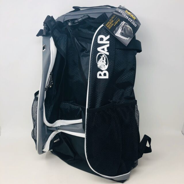 Youth Baseball/Softball Bat Glove Backpack Black Athletic Boar Athletic Genuine