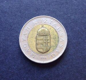 100 Forint Pièce Pièce De 1998 Hongrie Armoiries Stephan Couronne