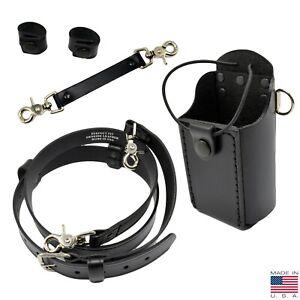 Perfect Fit Nylon Firefighter Glove Strap Holder Heavy Duty Chrome Hook