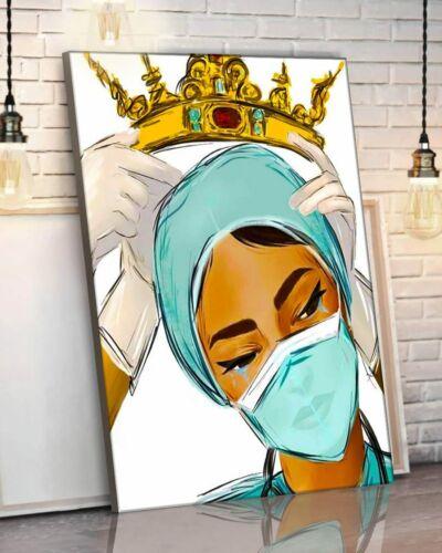 Crown Nurse Queen poster No Frame