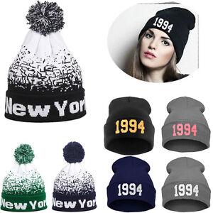 Men-Women-Baggy-Warm-Winter-Wool-Knit-Ski-Beanie-Skull-Slouchy-Caps-Hat-Unisex