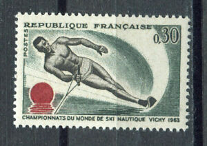 s9582-FRANCE-MNH-1963-Waterski-championship-1v