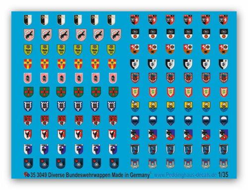 Peddinghaus 3049 1//35 Bundeswehr Wappen