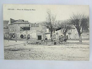 CPA-07-Privas-Platz-des-Champs-De-Mars