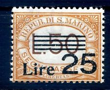 SAN MARINO 1943 - SEGNATASSE SERIE  N° 31   NUOVO **