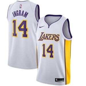 b151da87930 2018 Nike NBA LA Lakers Brandon Ingram  14 Association Edition ...