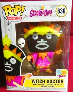Witch Doctor 630 Animation Scooby Doo Funko Pop