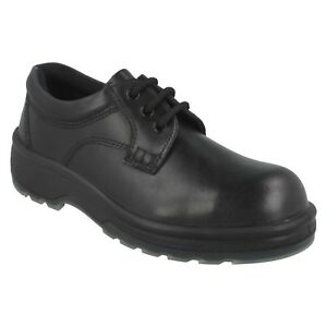 1010-TOTECTORS-MENS-LEATHER-LACE-UP-STEEL-TOE-CAP-SLIP-RESISTANT-WORK-SHOES
