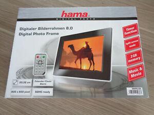 Digitaler Bilderrahmen Hama 8,0 neu.