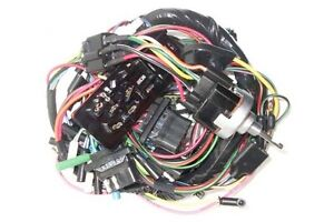 new 1963 falcon complete under dash wiring harness w fuse box for 2 rh ebay com  63 falcon fuse box location