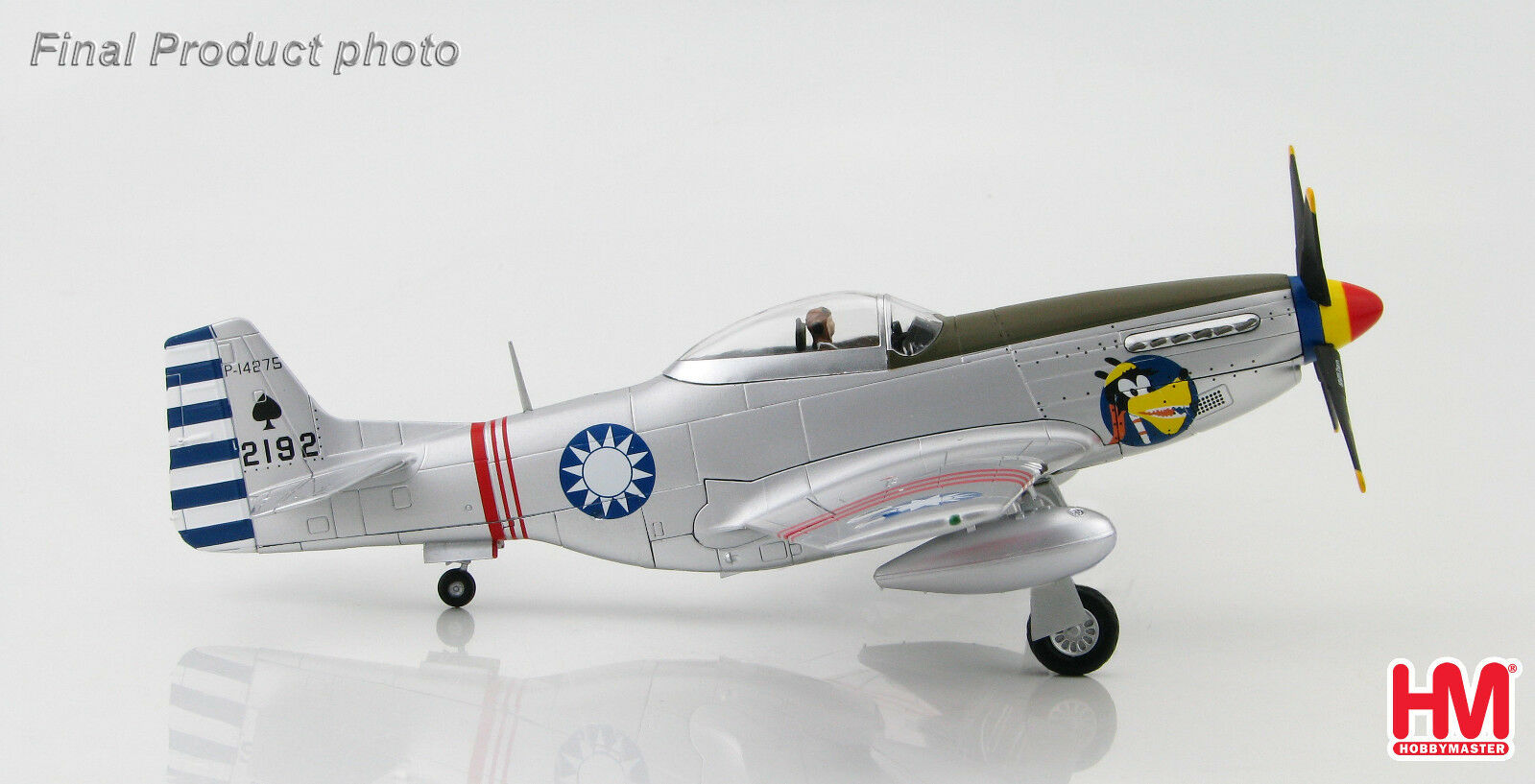 Hobby - meister ha7731 1   48 p-51d mustang p-14275, 21. sqn, 4. fg roc.