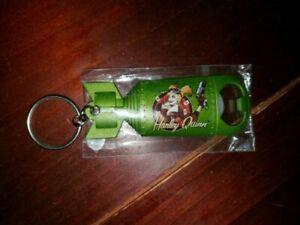 DC Bombshells Harley Quinn Metal Keychain Bottle Opener new