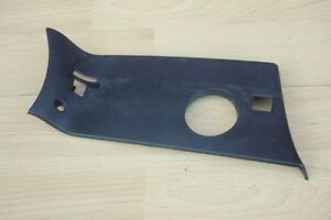 FRONT-BUMPER-BLANK-PLATE-COVER-RIGHT-Jaguar-S-Type-1999-2004-with-foglights