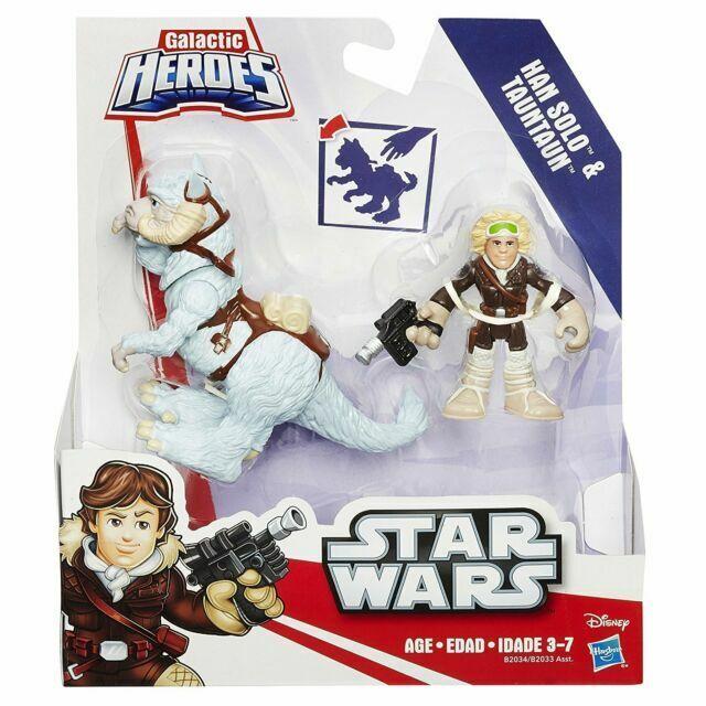 Star Wars Galactic Heroes Han Solo /& Tauntaun Hasbro