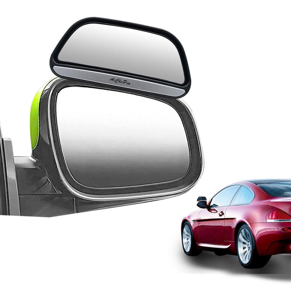 X 2 New SMALL BLIND SPOT MIRRORS ADJUSTABLE CAR VAN BLINDSPOT TOWING REVERSING