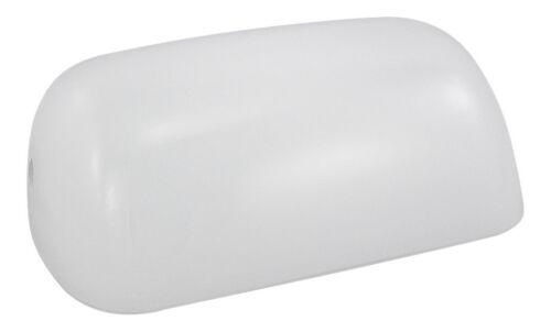 Ersatzglas für Bankerlampe Glas weiß perfekt für die maritime Dekoration