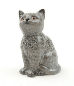 Beswick-Cats-British-Blue-Lead-Grey-Persian-Kitten-No-1886-1964-1966