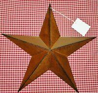 "Rustic Primitive RUSTY Tin 12"" Barn Star Country Home decor Farmhouse charm"