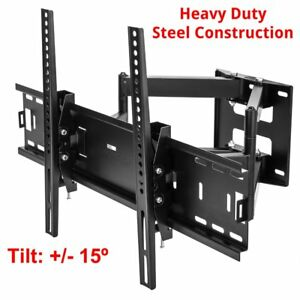 Flat-Full-Motion-TV-Wall-Mount-Bracket-26-30-32-37-40-42-46-50-55-60-65-70-80-034