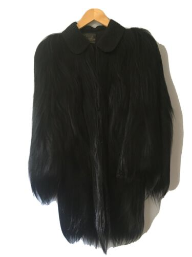 Stunning Old Hollywood Fur Coat By Gold Coast Monk