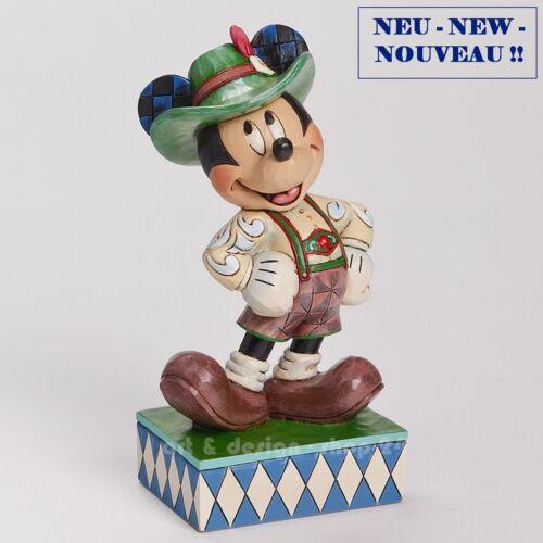"Jim Shore Figur 4043633 NEU !! /""MICKEY GERMANY/"" Skulptur DISNEY TRADITIONS"