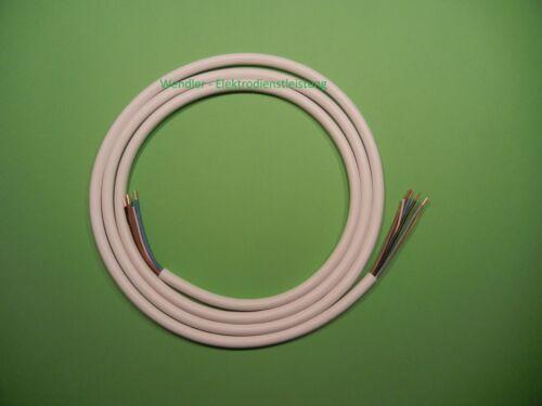 Set Herdanschluss Merten Herdanschlussdose UP 3m Herdanschlusskabel 5x2,5mm²
