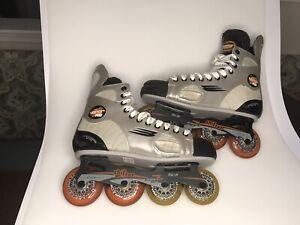 BAUER-VAPOR-PRO-inline-hockey-skates-TUUK-SHIFTER-Skate-Size-US-9R-Excellent