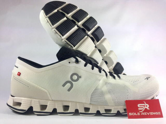 check out 6a257 cd2c0 New Men's ON CLOUD X Cloudtec Running Shoes White/Black rr1