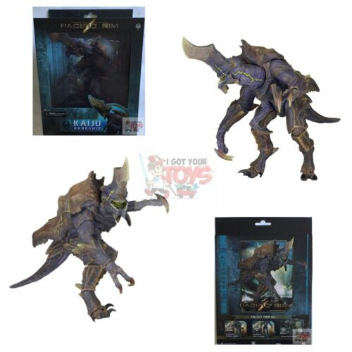 """KAIJU HARDSHIP Pacific Rim NECA 2016 DELUXE Discontinued 8/"""" Inch 6/"""" Inch Wide"""