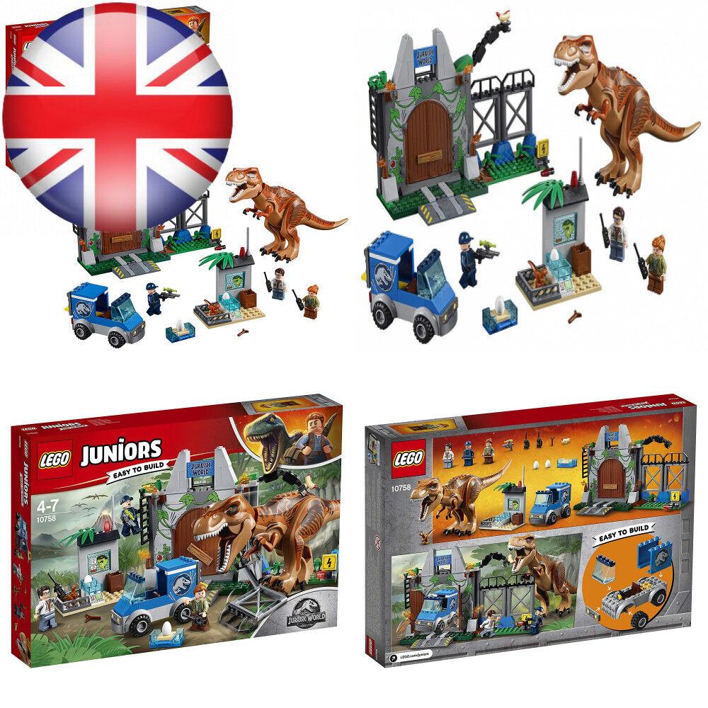 LEGO JURASSIC WORLD T-REX Breakout Set