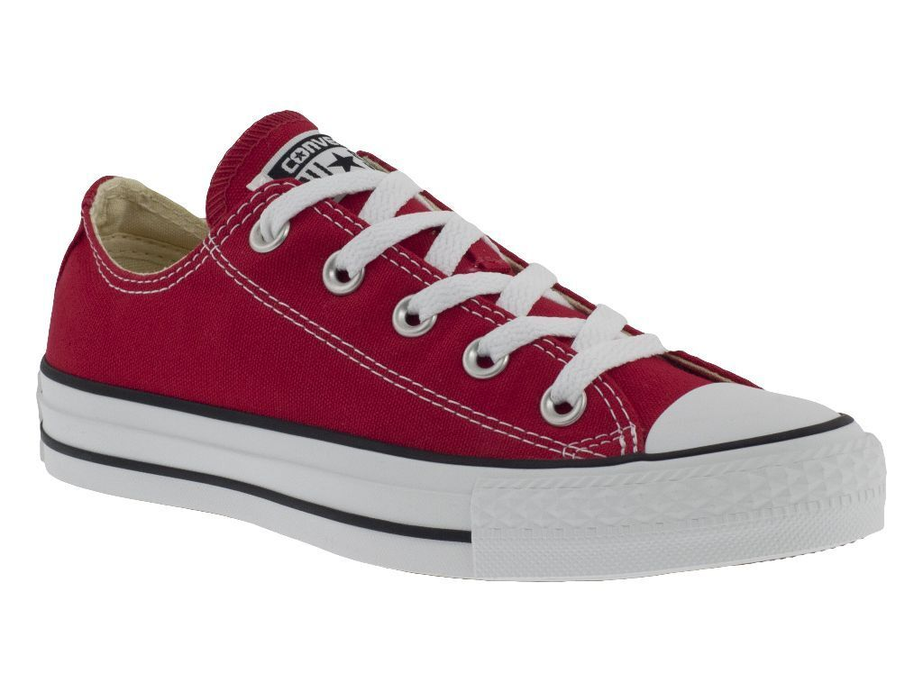 CONVERSE ALL STAR OX rouge chaussures BASSE hommes femmes