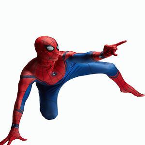 Man-Spider-Man-Homecoming-Cosplay-Costume-Halloween-Spandex-Zentai-Suit