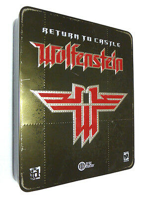Return to Castle WOLFENSTEIN | id Software (PC CD-ROM, Collector's Metal Case)